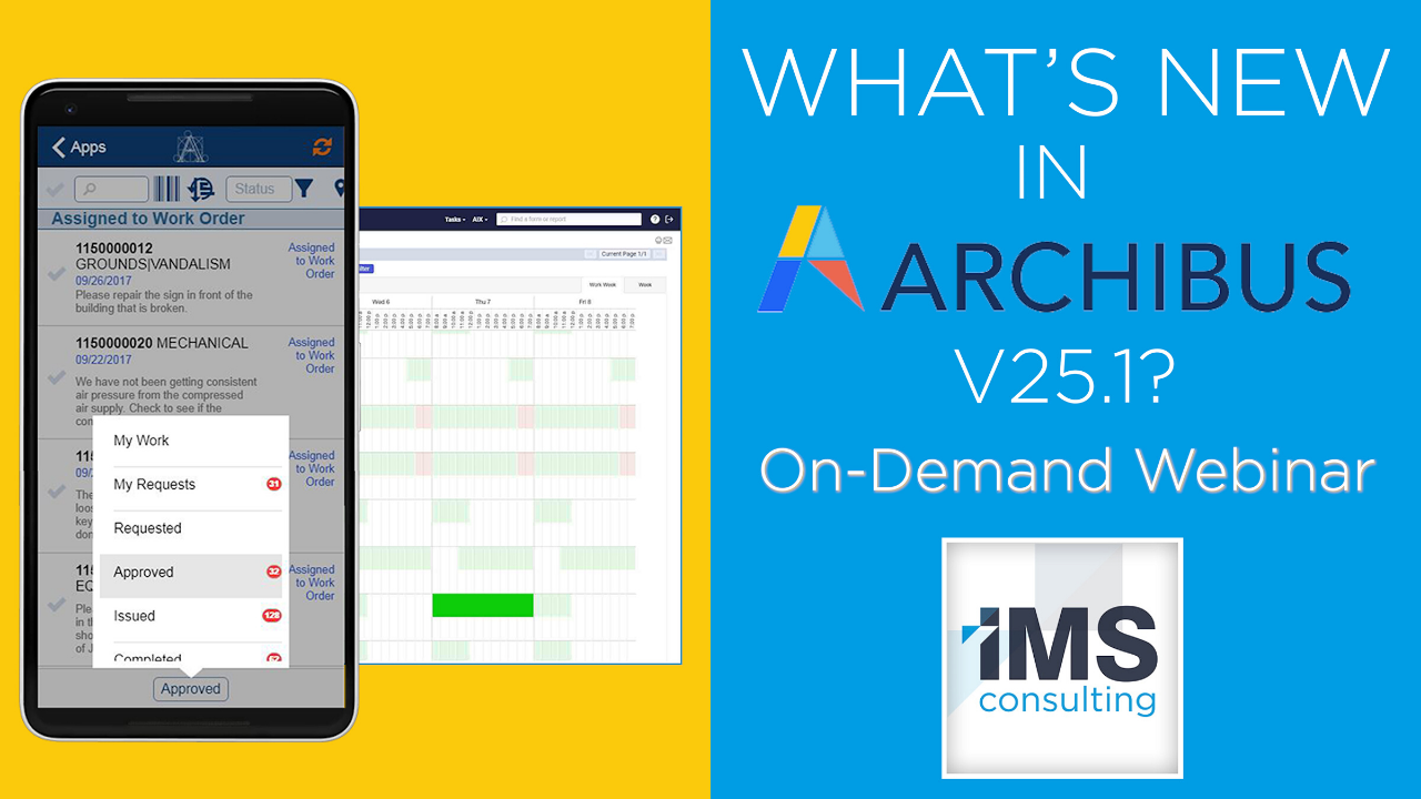 What's New in Archibus v25.1?