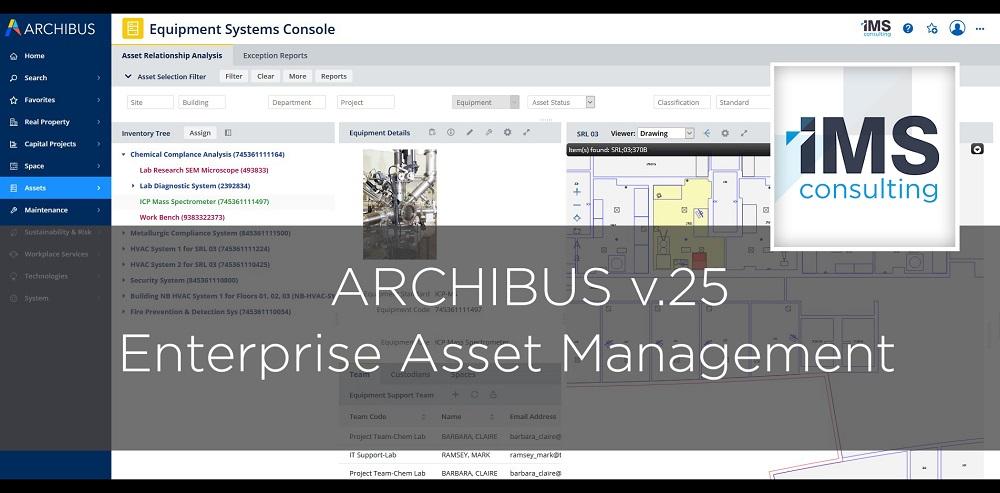 Archibus Enterprise Asset Management