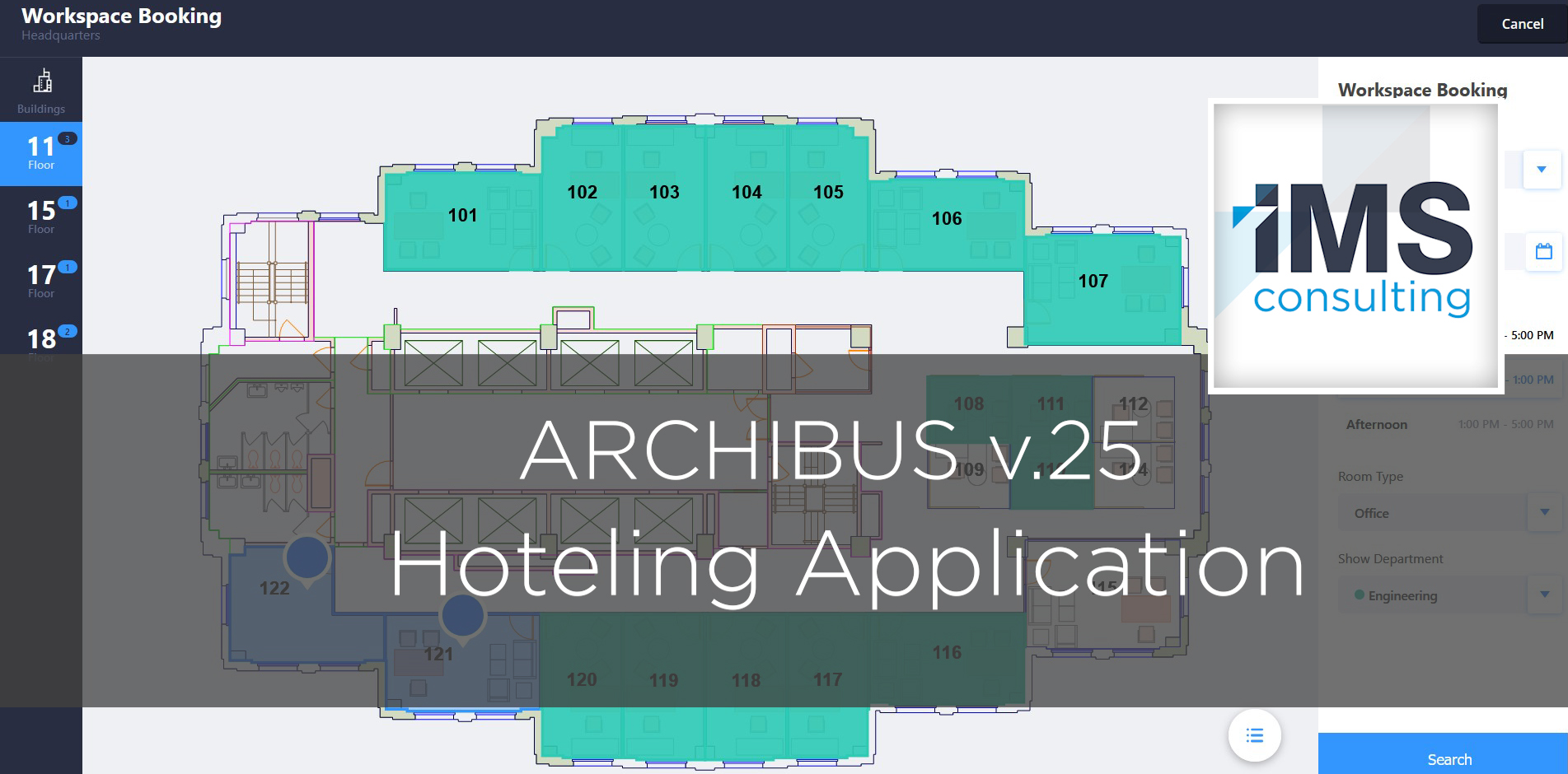 Archibus Hoteling Application - IMS Consulting