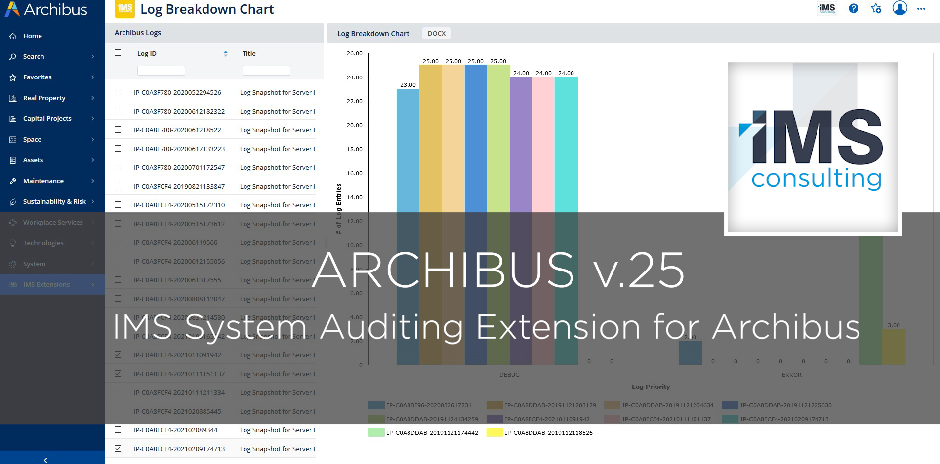 IMS System Auditing Extension - IMS Consulting