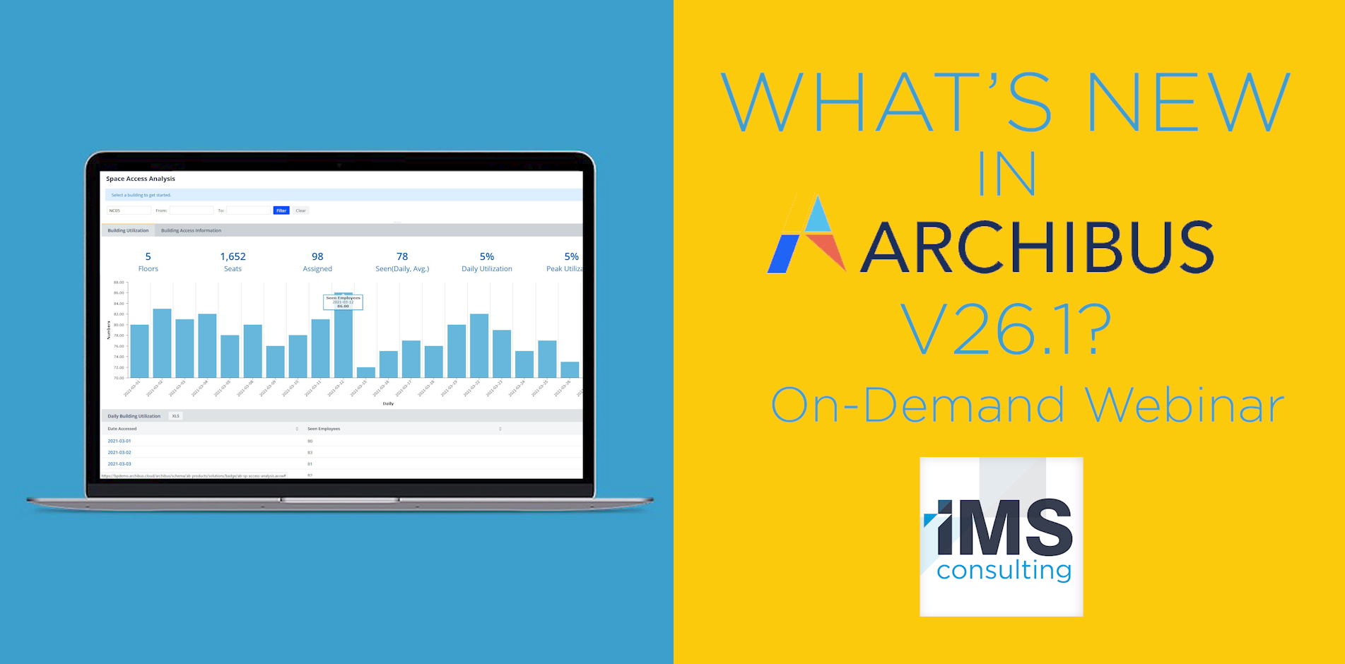 IMS Consulting - What's New in Archibus v.26.1?